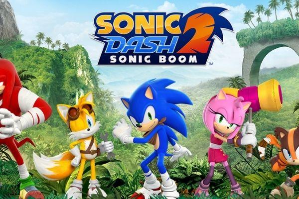 เกมมือถือ Android - Sonic Dash 2: Sonic Boom