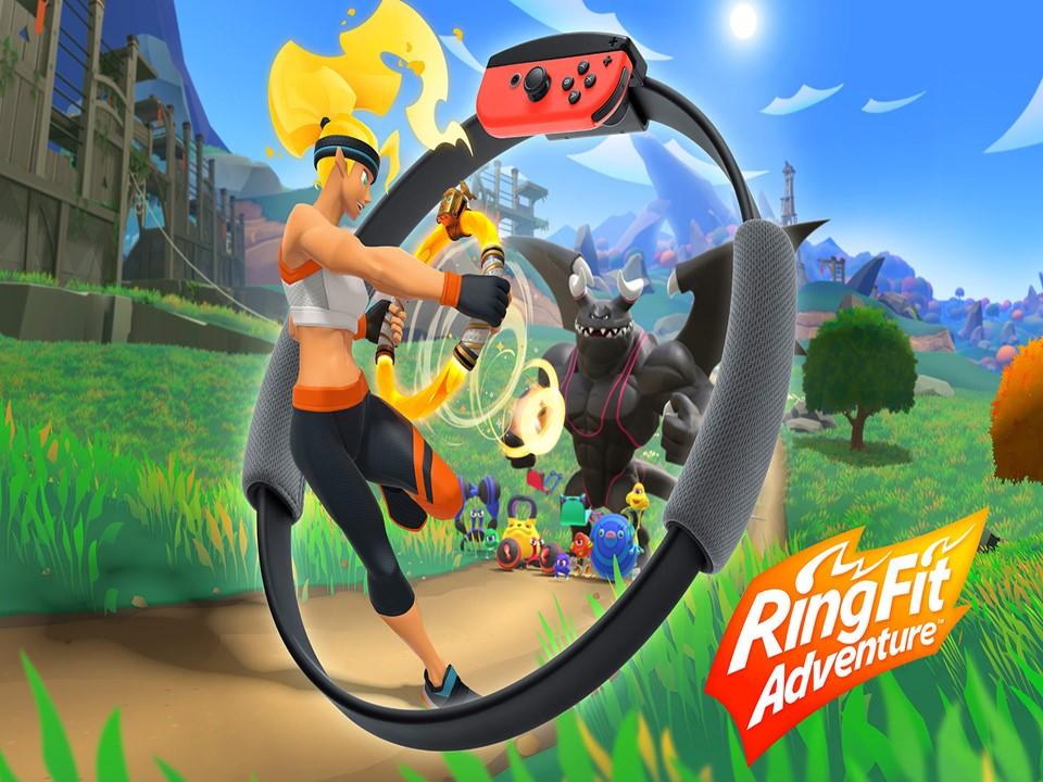 เกมน่าเล่น Nintendo Switch Ring Fit Adventure